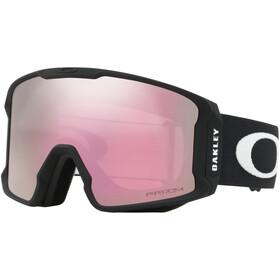 Oakley Line Miner XM Gafas de Nieve Mujer, matte black/w prizm snow hi pink iridium